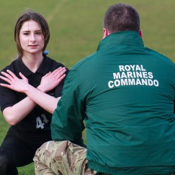 Royal Marines Visit