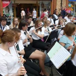 Wind Band in George Yard
