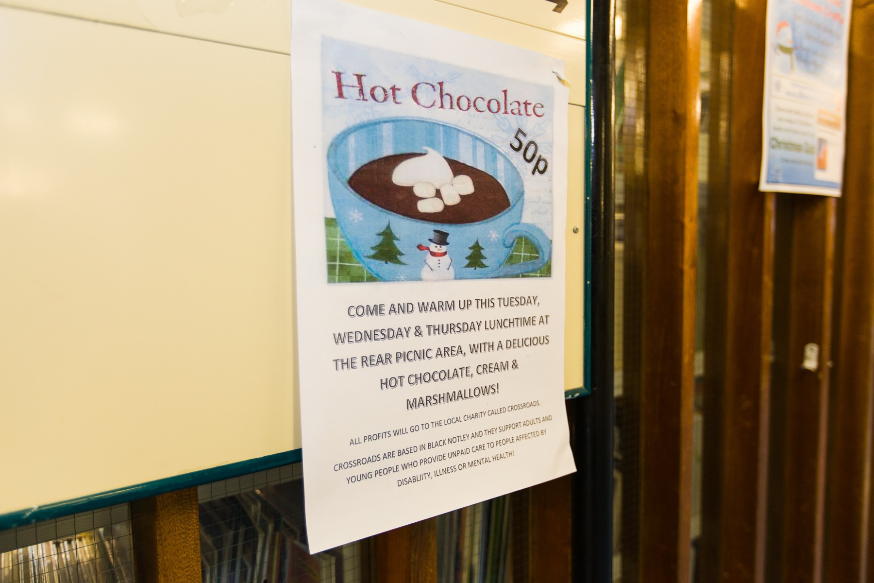 Hot Chocolate Charity Event 1