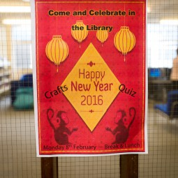 Chinese New Year in the Library