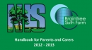 Handbook for Parents and Carers 2012-3 Now Available