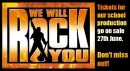 We Will Rock You July 2012 - Tickets on Sale 27th June