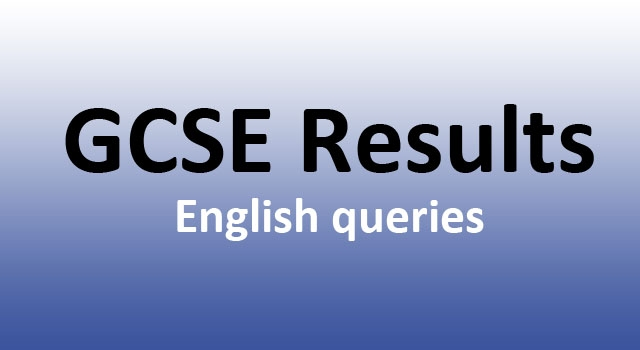 Statement on GCSE English Results