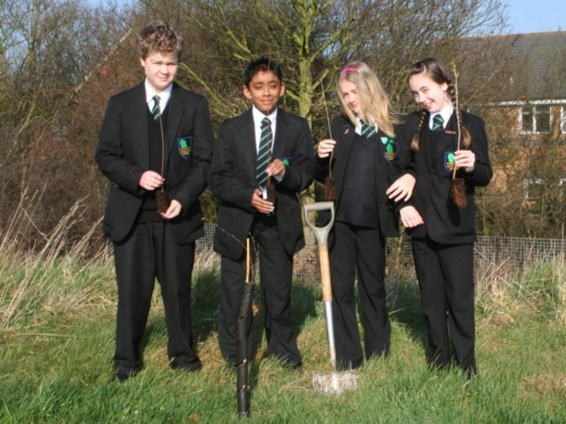 Sustainability at Notley High School