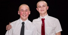 Head Shave for Wipe Away Those Tears