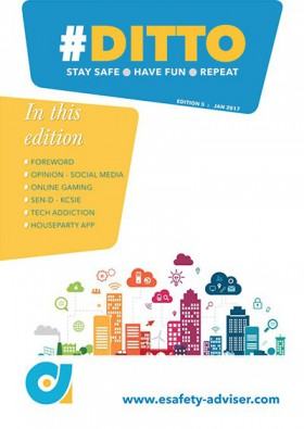 DITTO - The Online Safety Magazine - Edition 5 - Jan 2017