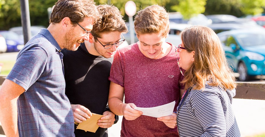 GCSE Exam Results Success