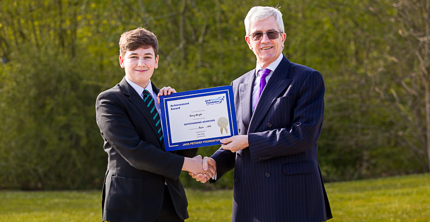 Henry Wright - Jack Petchey Winner April 2016