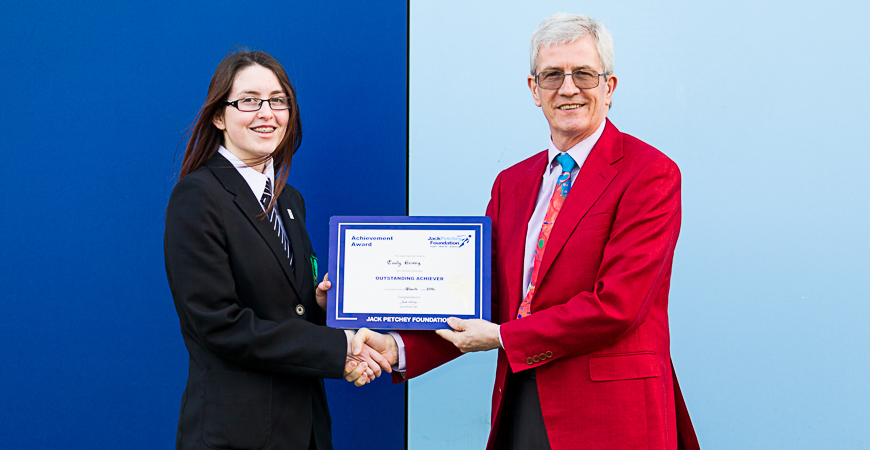 Emily Heissig - Jack Petchey Winner March 2016