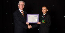 Shannon Raymond  - Jack Petchey Winner Oct 2016