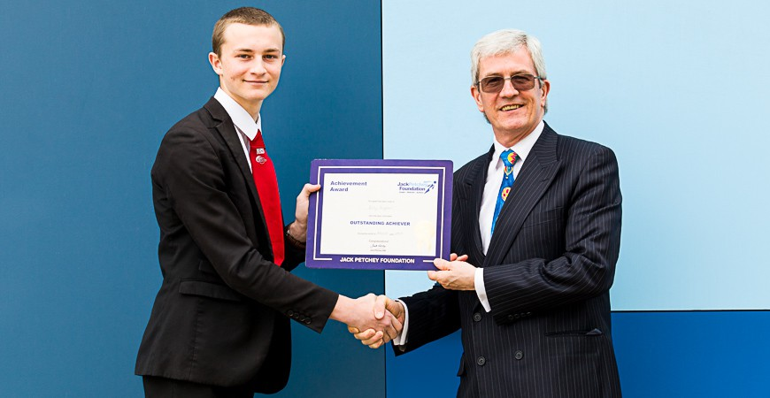 Billy Dryden - Jack Petchey Winner March 2017