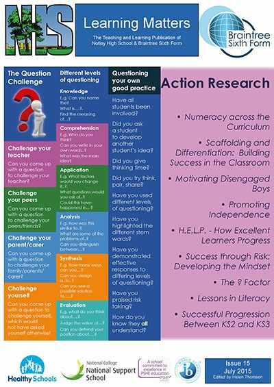 Learning Matters: Action Research Summer Special - July 2015