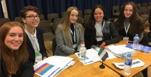 Notley High School & Braintree Sixth Form students at Model United Nations