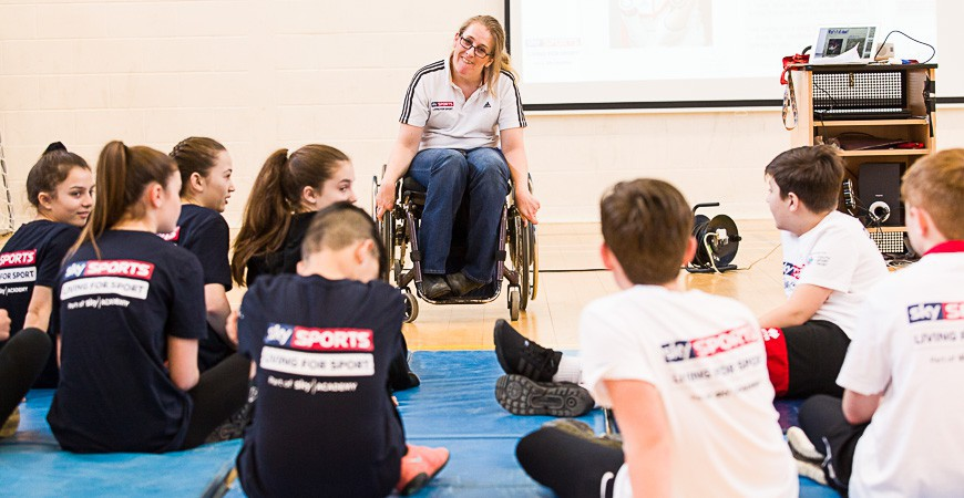 Sky Sports: Living for Sport Project Visit