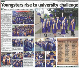 Youngsters Rise to University Challenge