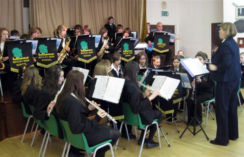 Wind Band at Gosfield