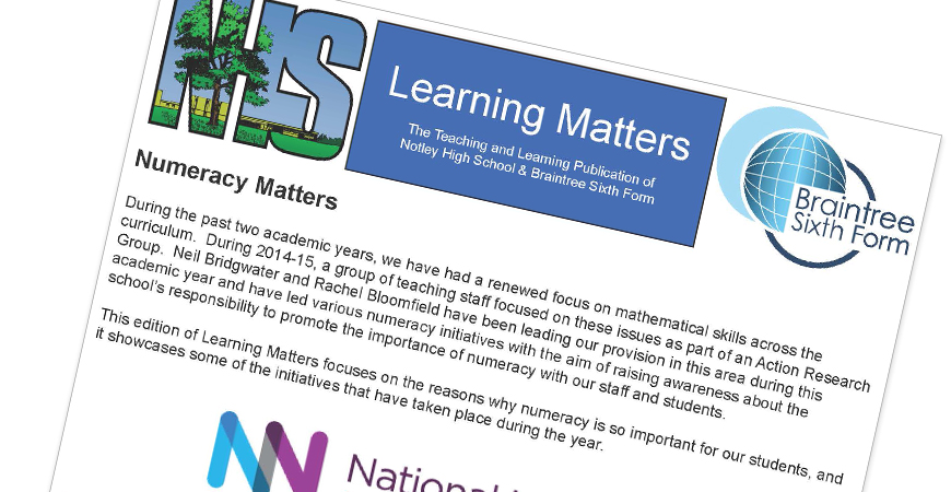 Learning Matters Issue: 17 - June 2016