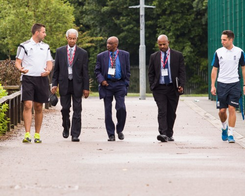 Sir Garfield Sobers Visit