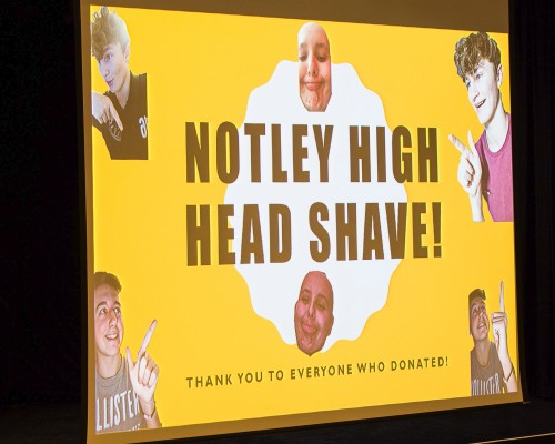 Charity Head Shave for