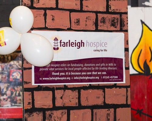 Charity Head Shave for Farleigh Hospice