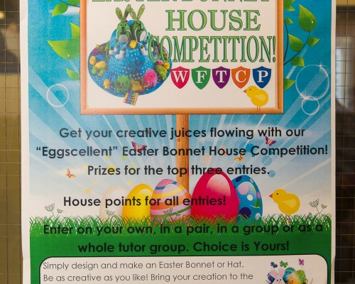 Easter Bonnet House Competition