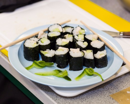 Sushi Making in Food Tech