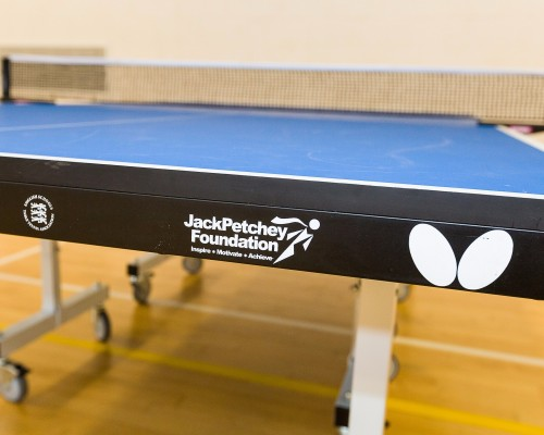 New Table Tennis Tables