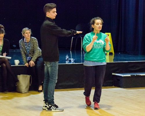 A Level Drama Workshop