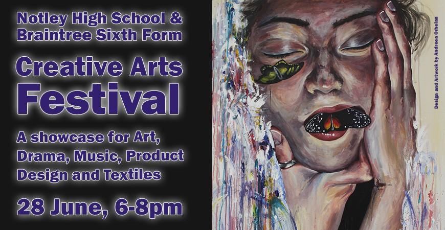 Creative Arts Festival on Thursday 28 June