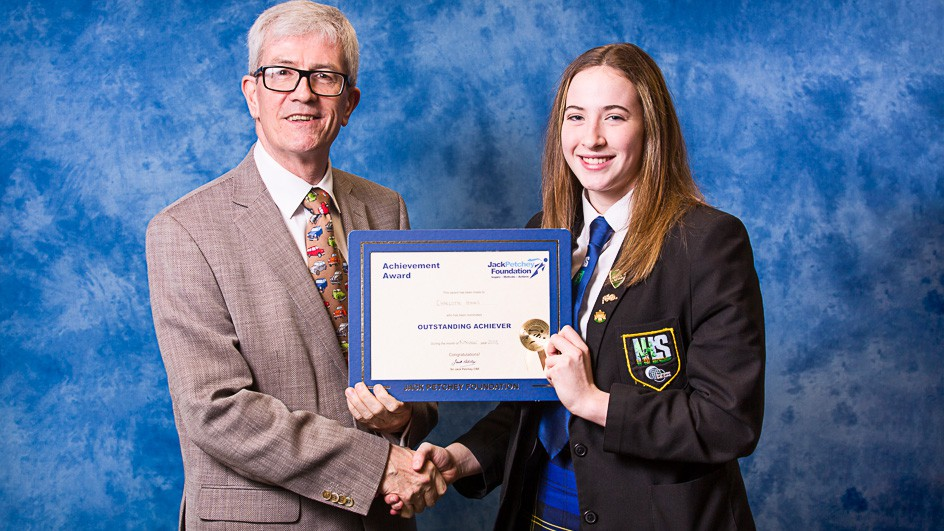 Charlotte Hooks - Jack Petchey Winner November 2018