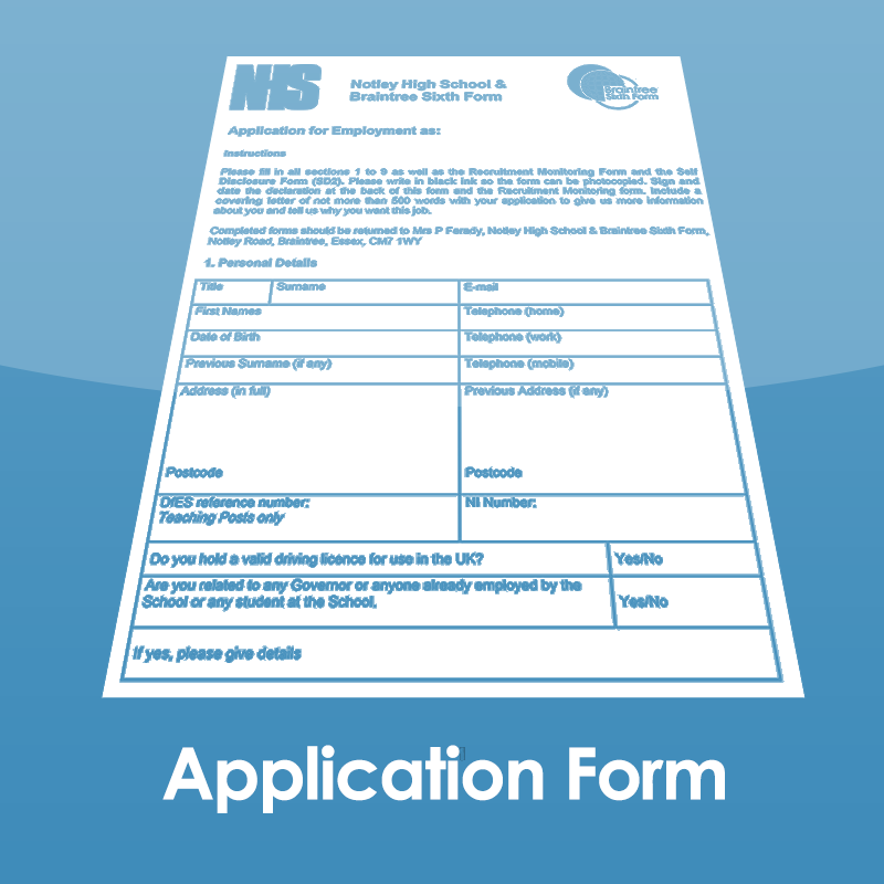 Download an Application Form