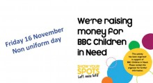 Children in Need - Non Uniform Day