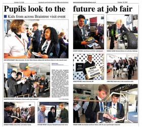Pupils Look to the Future at Job Fair