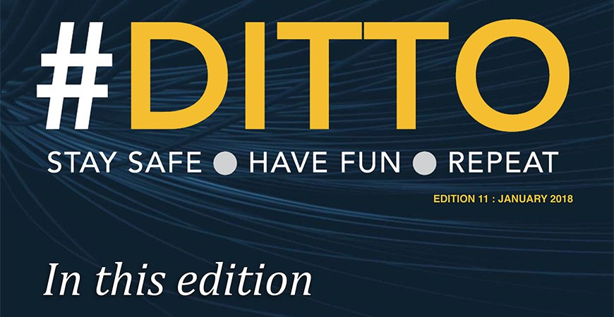 DITTO - The Online Safety Magazine - Edition 10 - Jan 2018