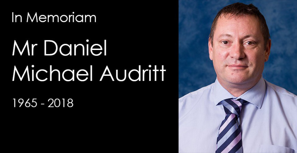 In Memoriam – Mr Daniel Michael Audritt