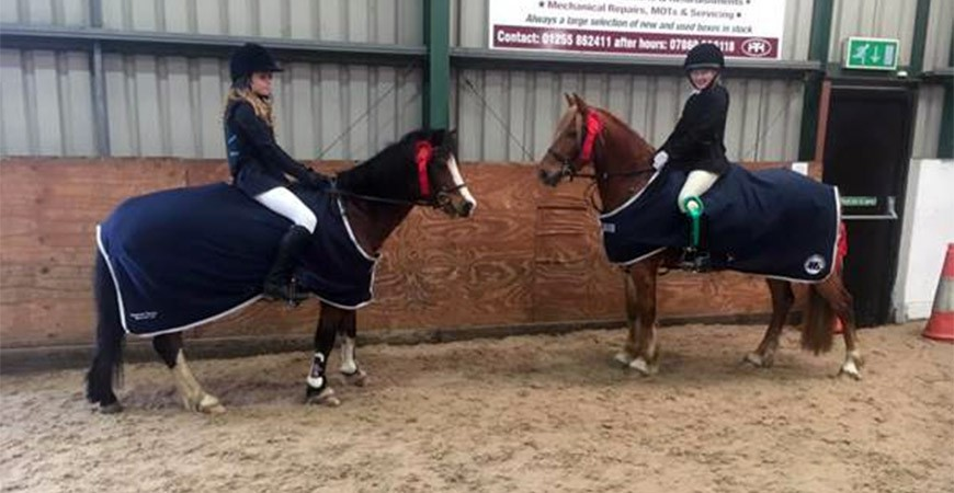 Show Jumping Success for Notley's Equestrian Team