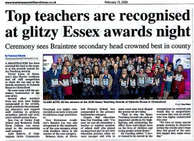 Essex Teaching Awards Feb 2020