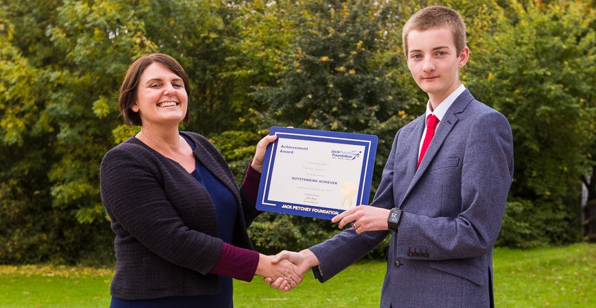 Matthew Freeman - Jack Petchey Winner Sept 2017