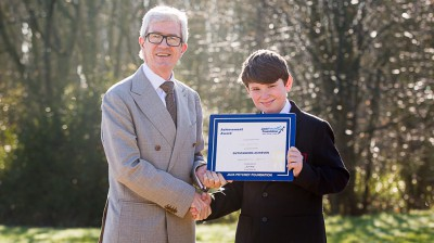 Sid Johnson - Jack Petchey Winner February 2019
