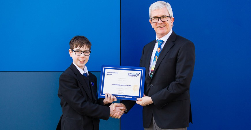 Charlie Hooks - Jack Petchey Award Winner February 2018