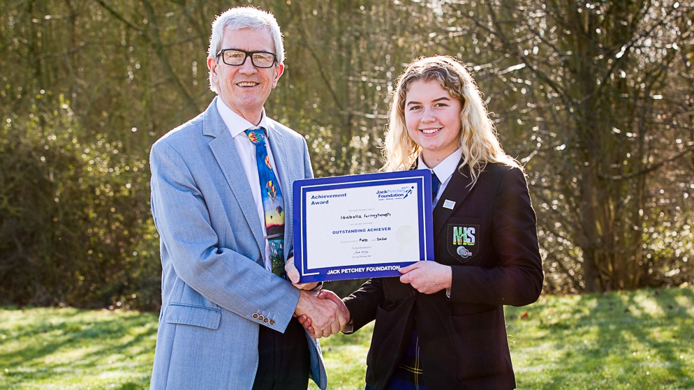 Isabella Ferneyhough – Jack Petchey Winner February 2020