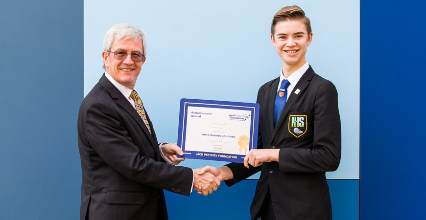 Jack Jordan - Jack Petchey Winner Oct 2017