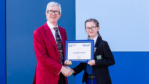 Maisie Speller- Jack Petchey Winner March 2019