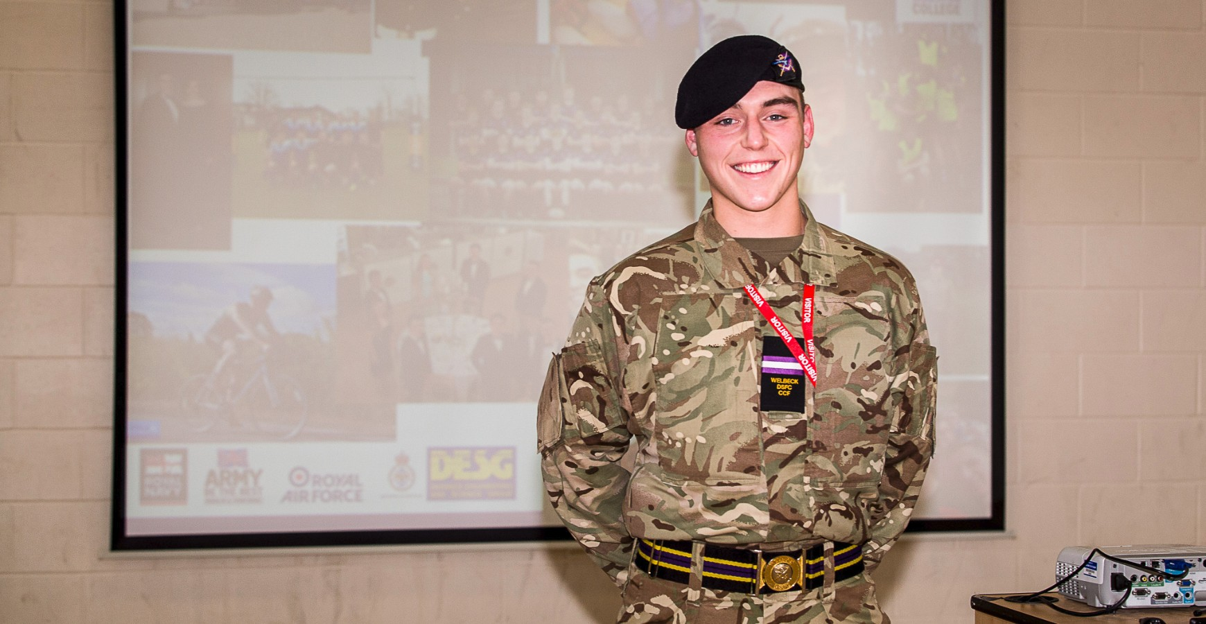 Welbeck and Military Careers Pathway Talk