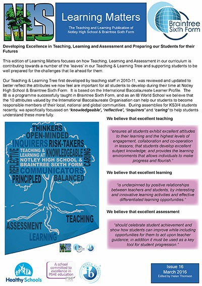 Learning Matters: Issue 16 - March 2016