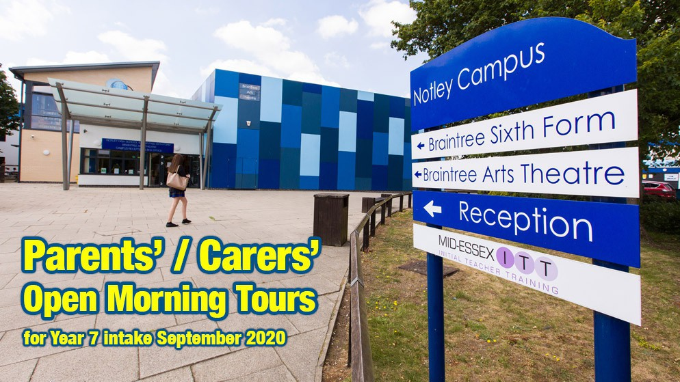Open Morning Tours 2019