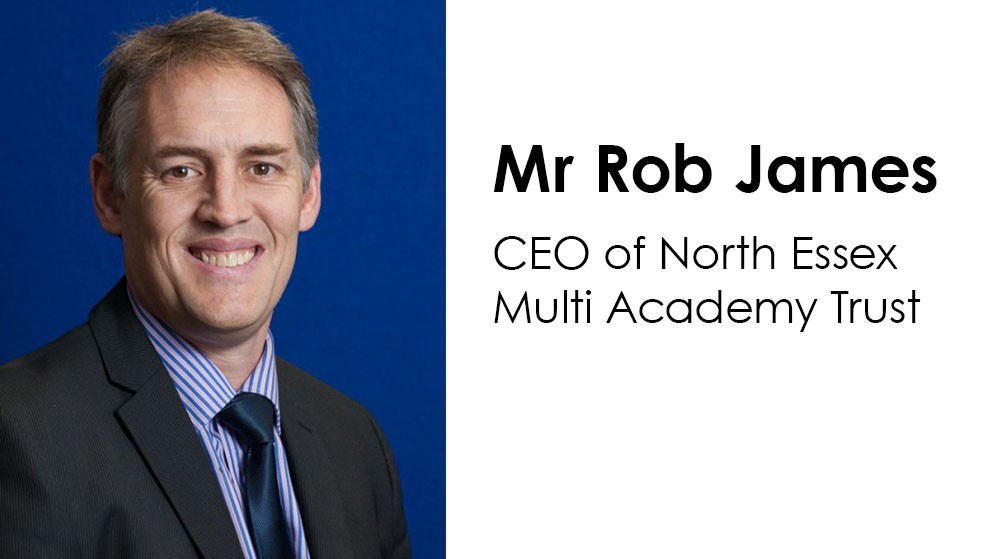 Appointment of new CEO of North Essex Multi Academy Trust: Mr Rob James