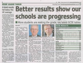 Better Results Show Our Schools Are Progressing