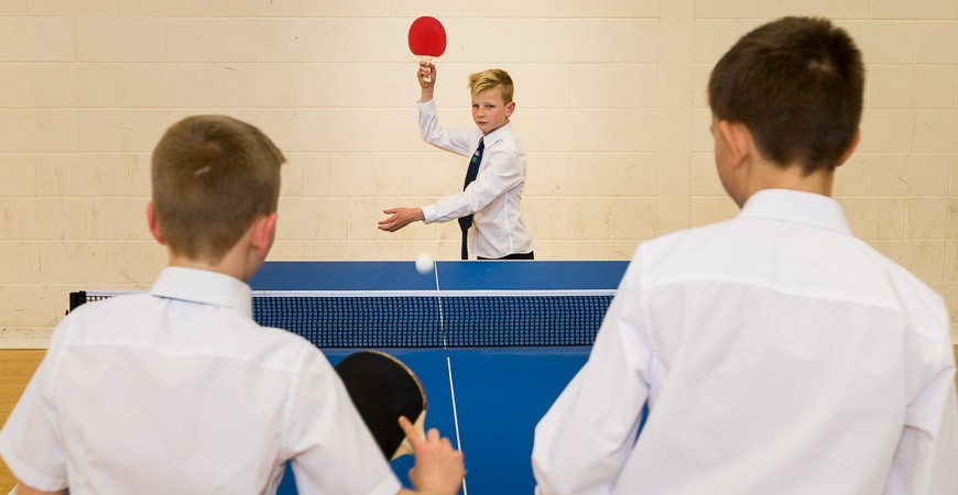 Jack Petchey Table Tennis Scheme