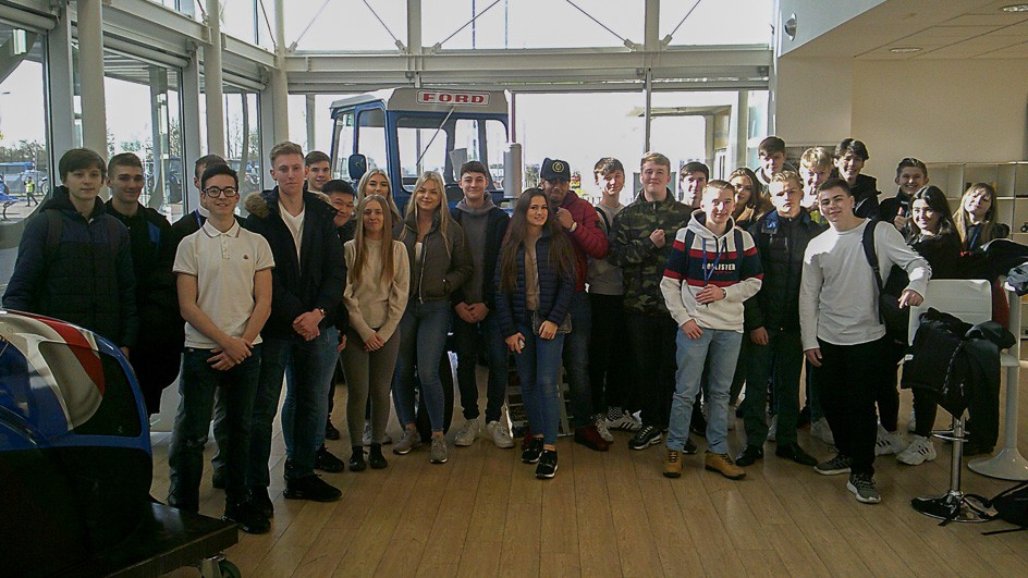 A Level Business and Economics Visit to New Holland Tractor Plant